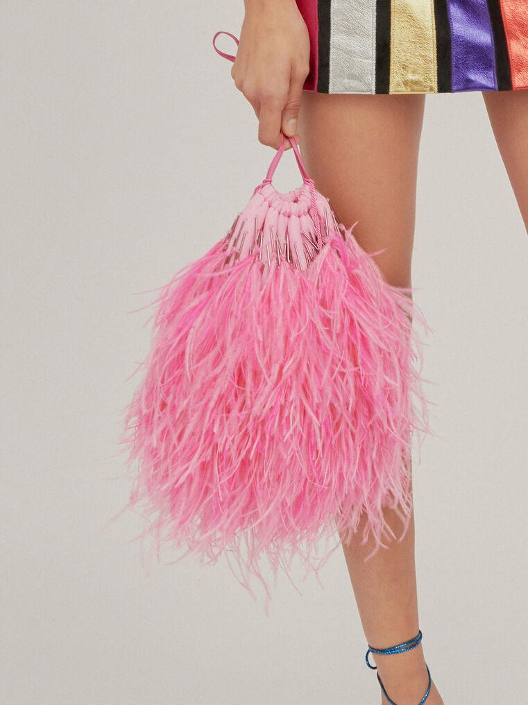"""The Attico """"Greta"""" pink pouch 1"""