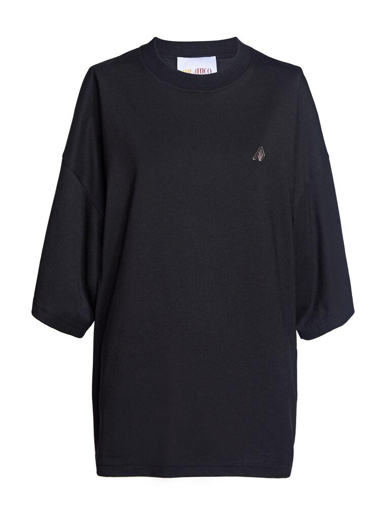 "THE ATTICO ""Cara"" black t-shirt 4"