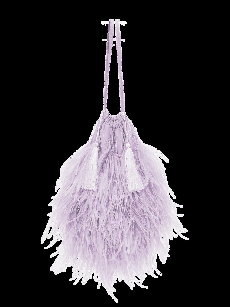 """The Attico """"Greta"""" lilac pouch 2"""