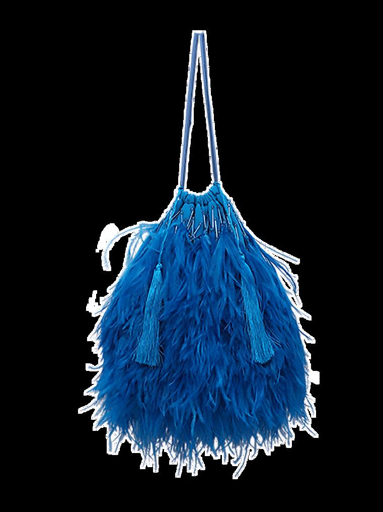 """The Attico """"Greta"""" turquoise pouch 2"""