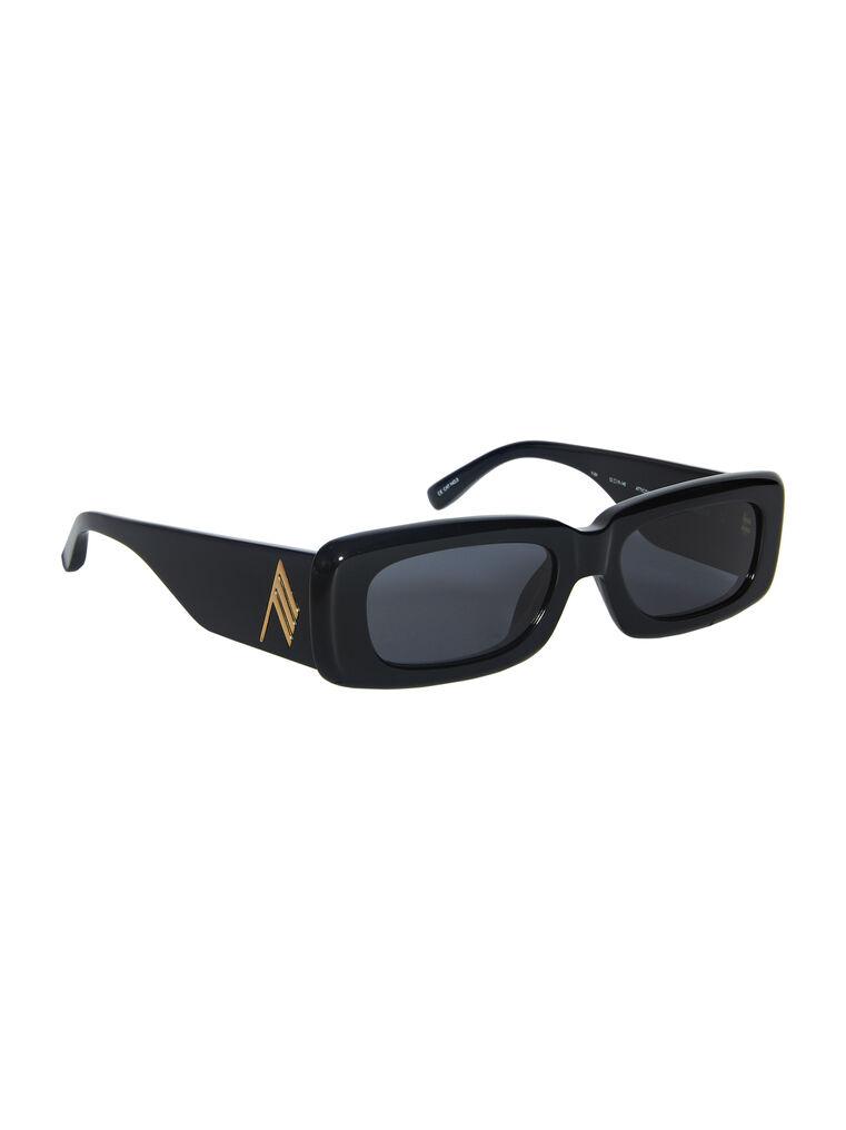 """THE ATTICO """"Mini Marfa"""" black sunglasses 3"""