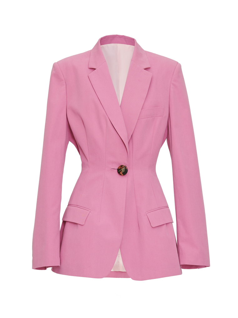 "The Attico ""Donna"" orchid pink jacket 4"