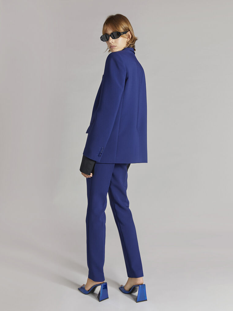THE ATTICO ''Twiggy'' blue navy skinny pant 3