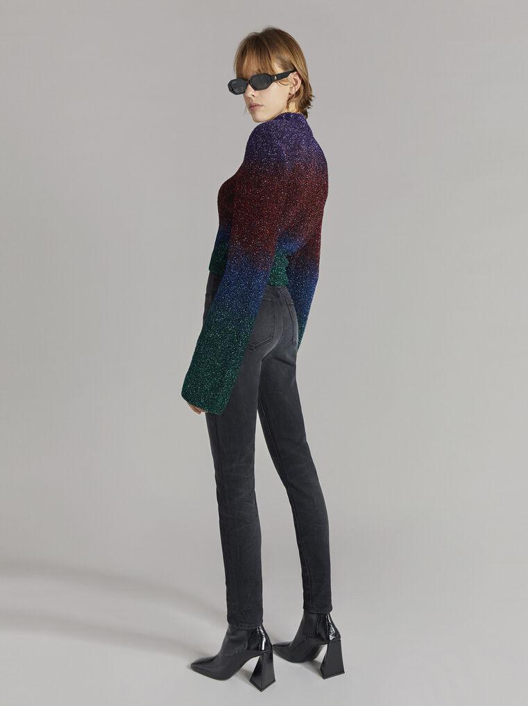 """THE ATTICO """"Kenna"""" multicolour sweater 3"""