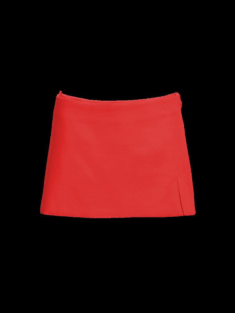 The Attico Red mini skirt 4
