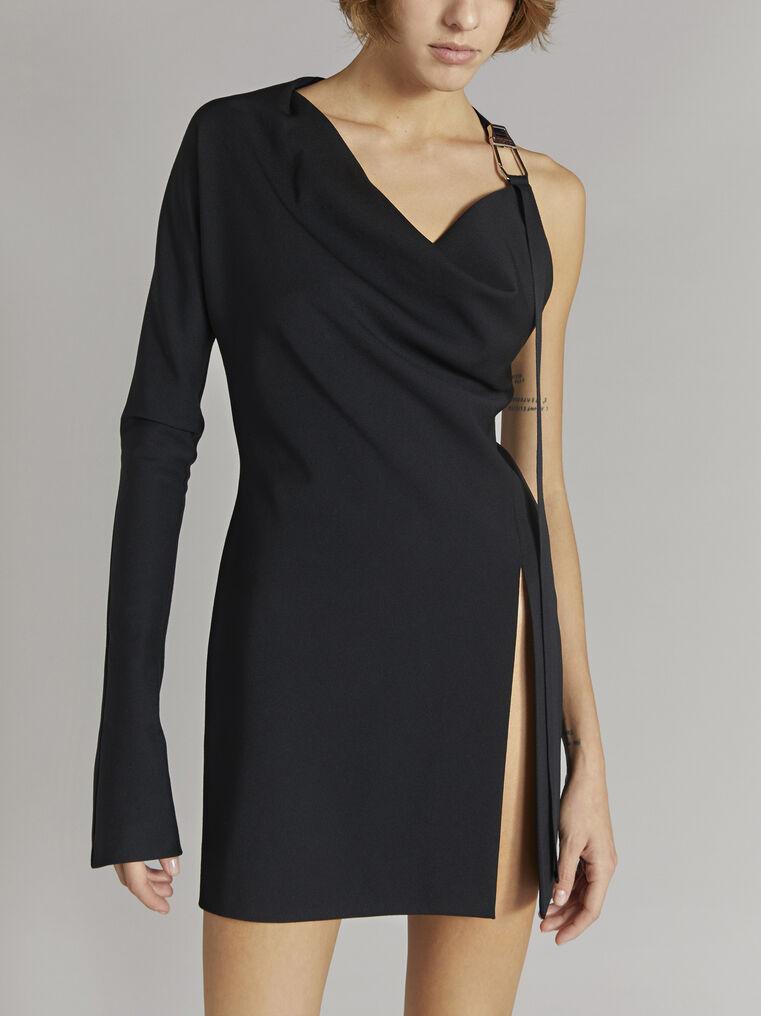 """THE ATTICO """"Linda"""" black mini dress 2"""