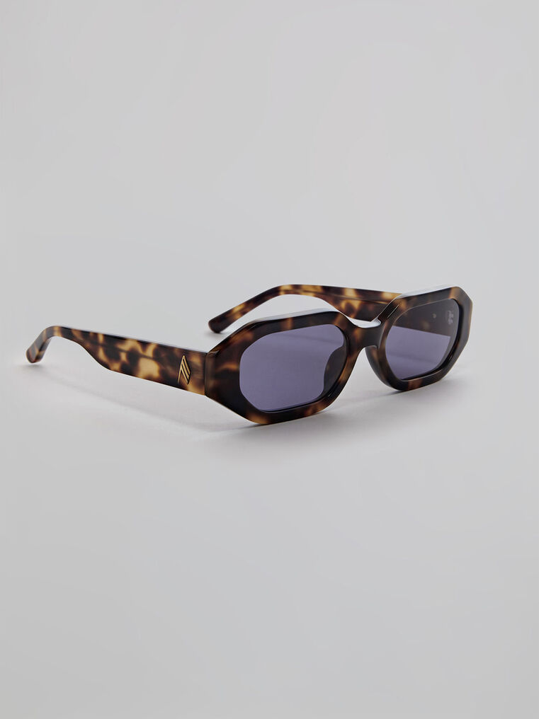 "THE ATTICO ""Irene"" tortoise effect sunglasses 1"