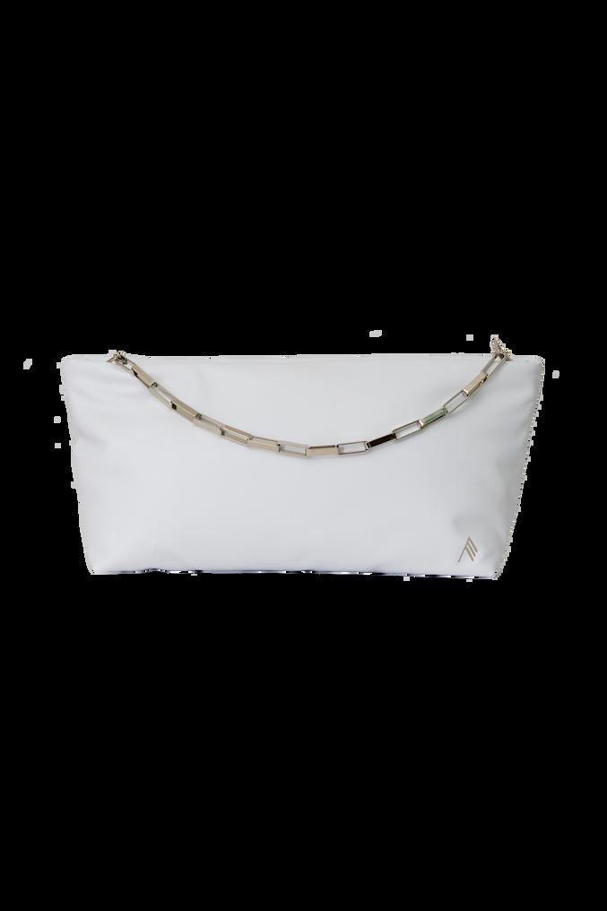 """The Attico Medium """"Wynona"""" white pouch 3"""