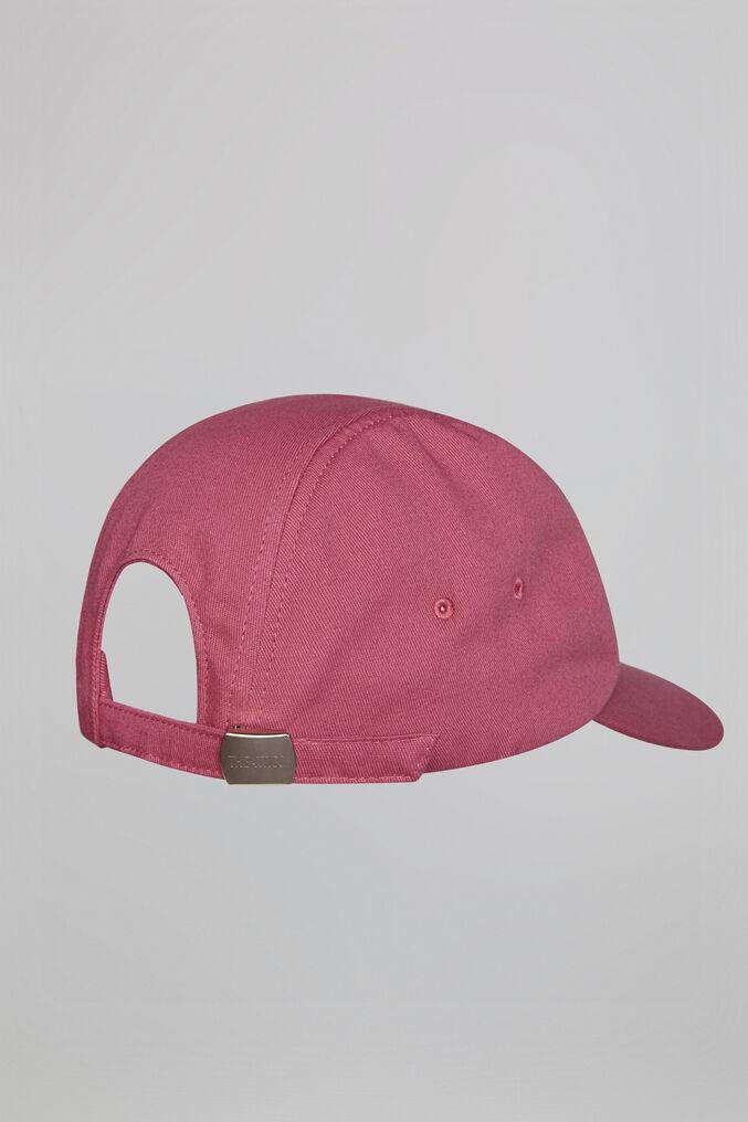 THE ATTICO Fuchsia cotton cap 3