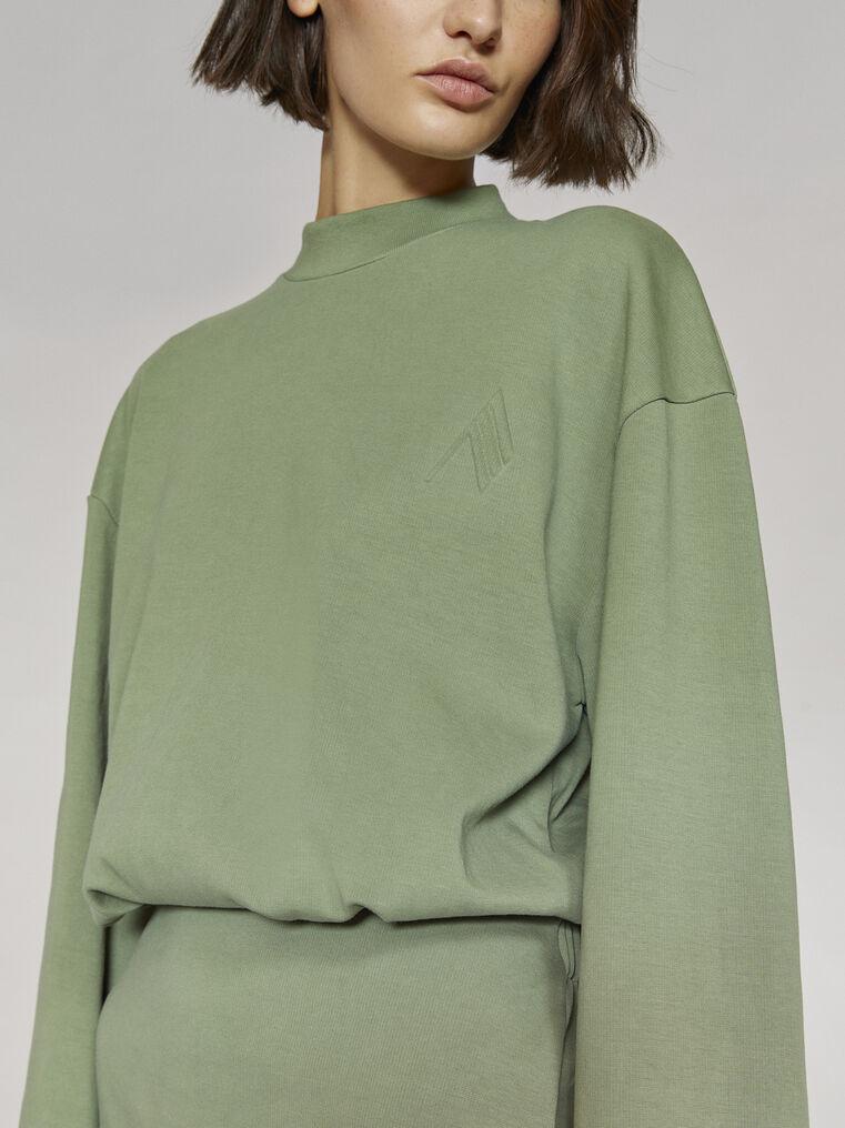 """THE ATTICO """"Palmer"""" olivine mini dress 2"""