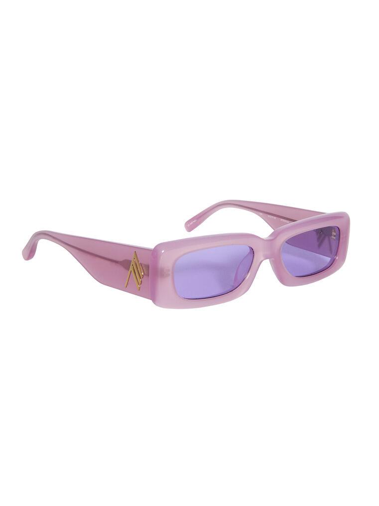 """THE ATTICO """"Mini Marfa"""" orchid sunglasses 3"""