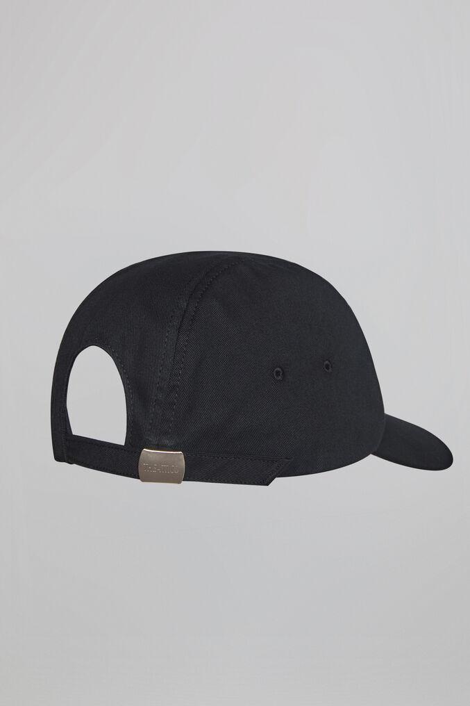 THE ATTICO Black cap 3