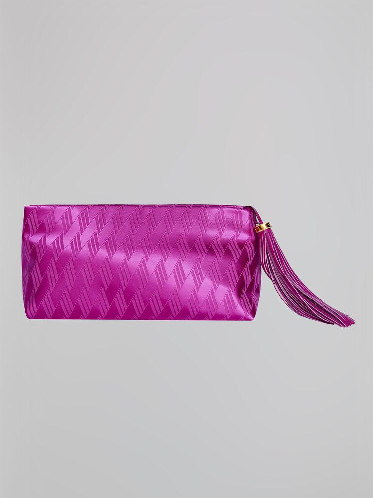 "The Attico ""Wynona"" pink pouch 3"