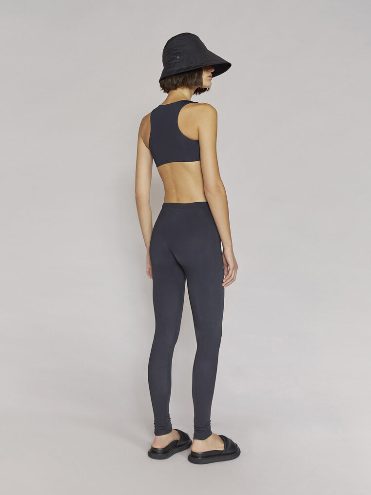 "THE ATTICO ""Paige"" black leggins 3"