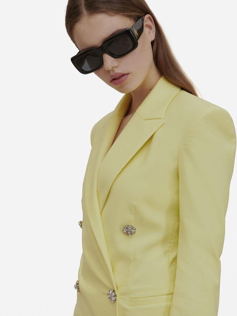 """The Attico """"Marfa"""" black sunglasses 1"""
