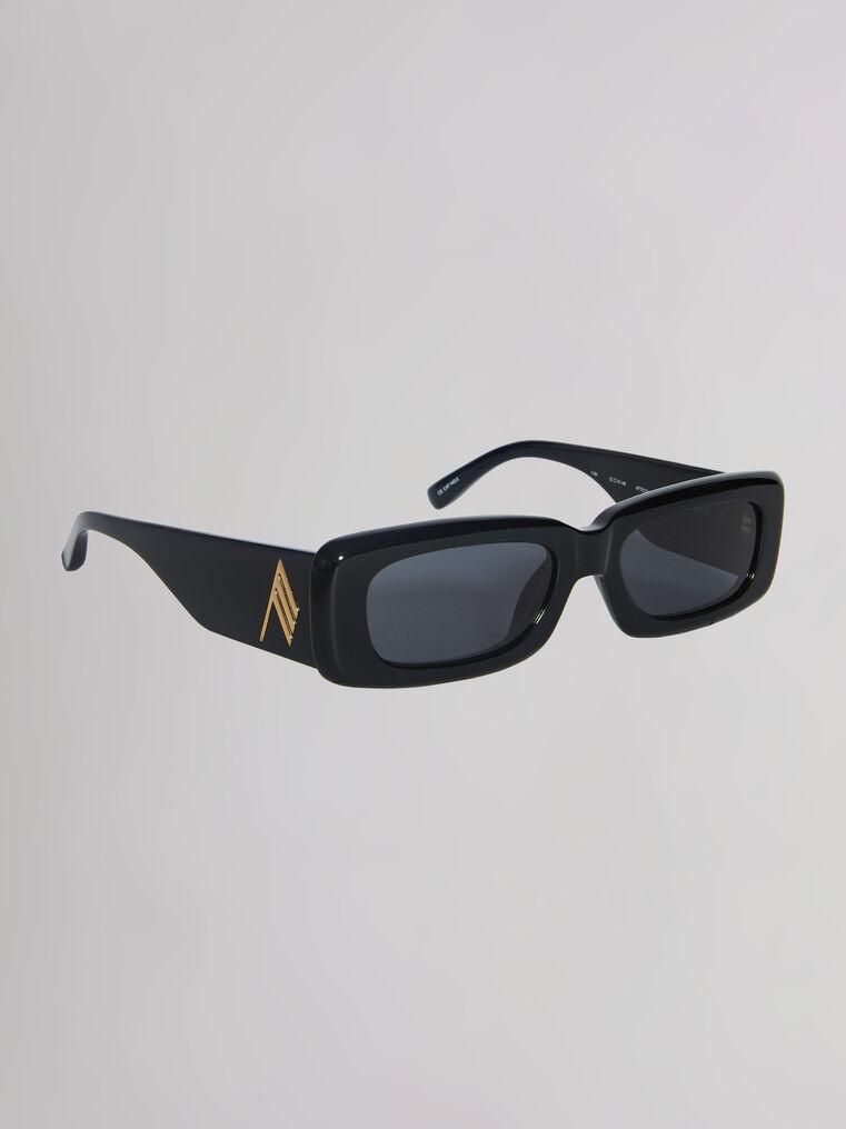 """THE ATTICO """"Mini Marfa"""" black sunglasses 2"""