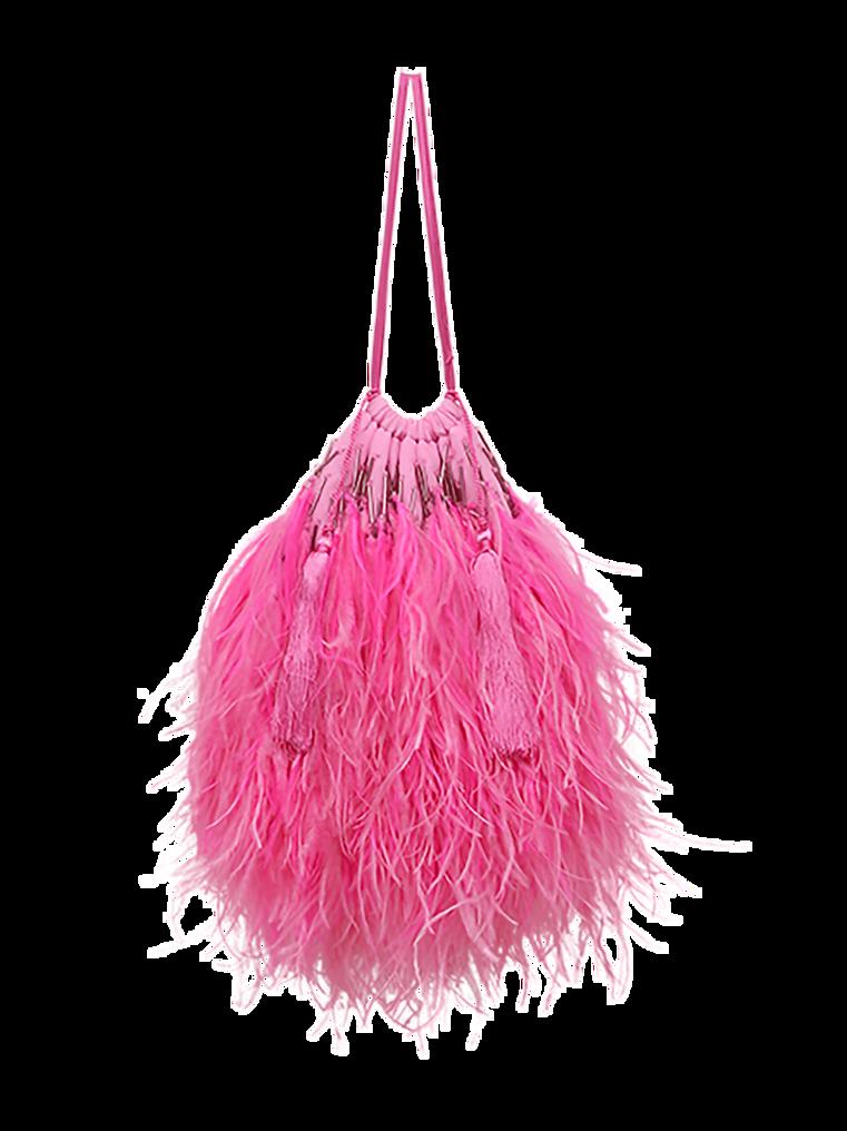 """The Attico """"Greta"""" pink pouch 2"""