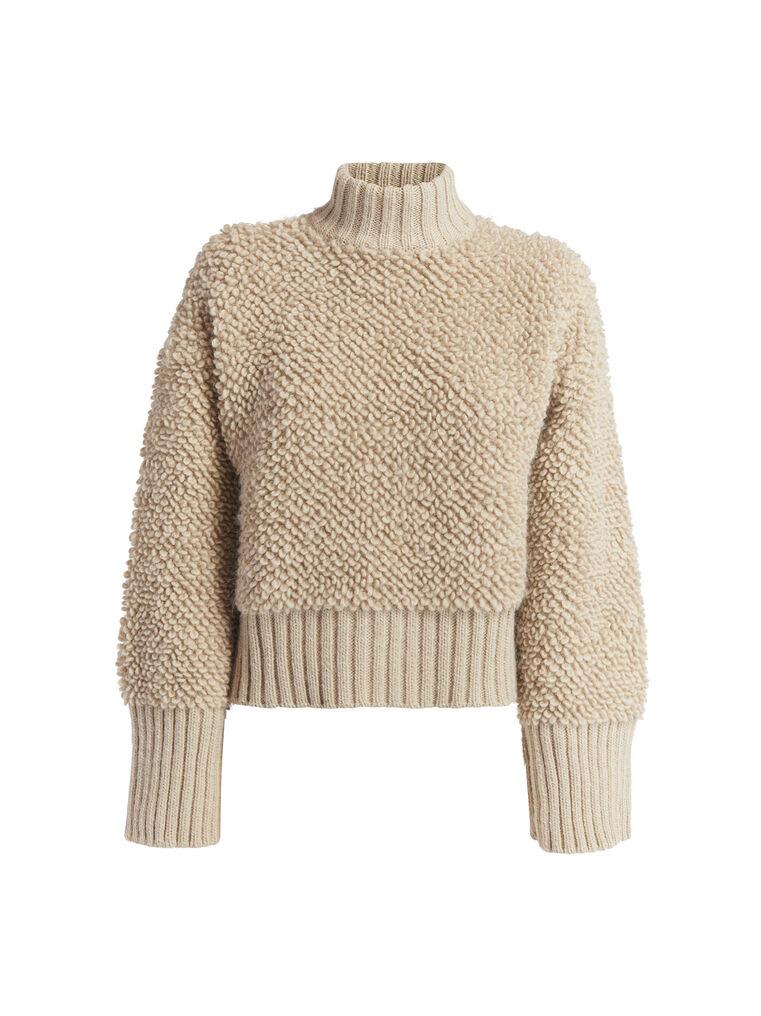 THE ATTICO Beige sweater 4
