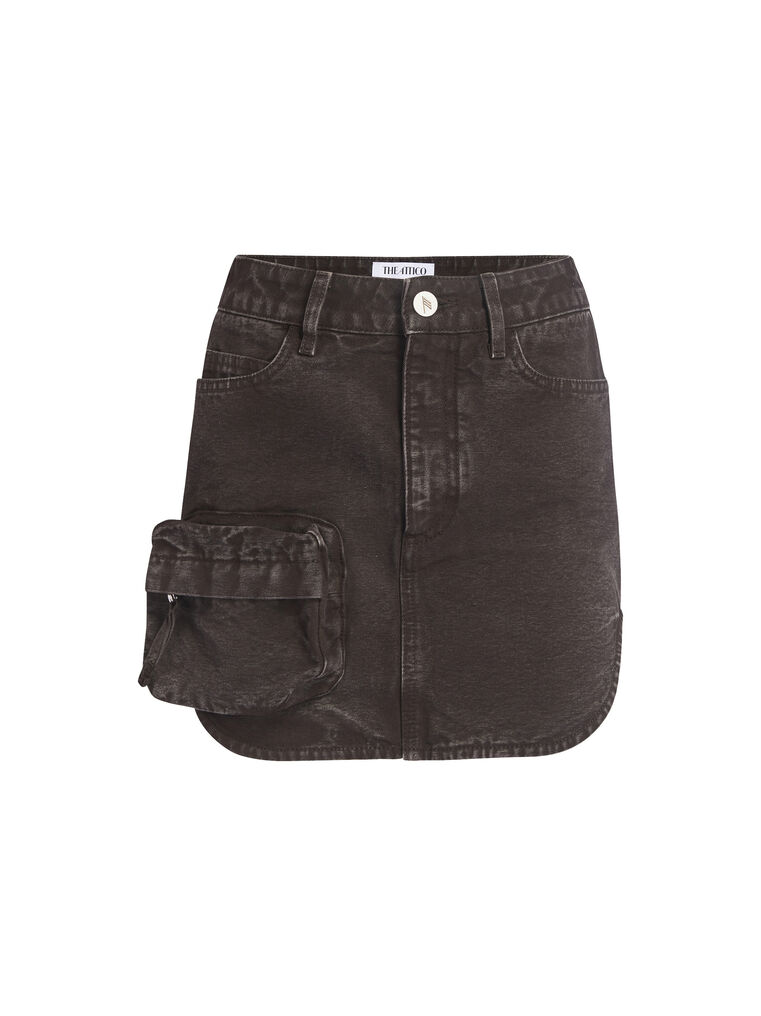 THE ATTICO Cigar mini skirt 4