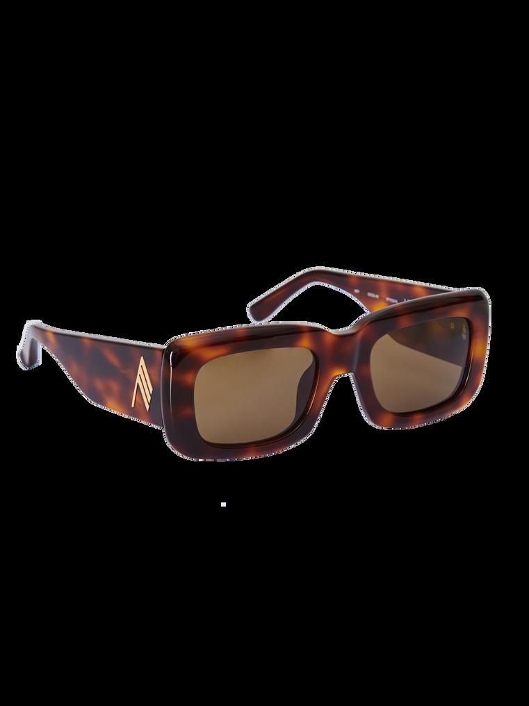 "The Attico ""Marfa"" tortoise effect sunglasses 3"