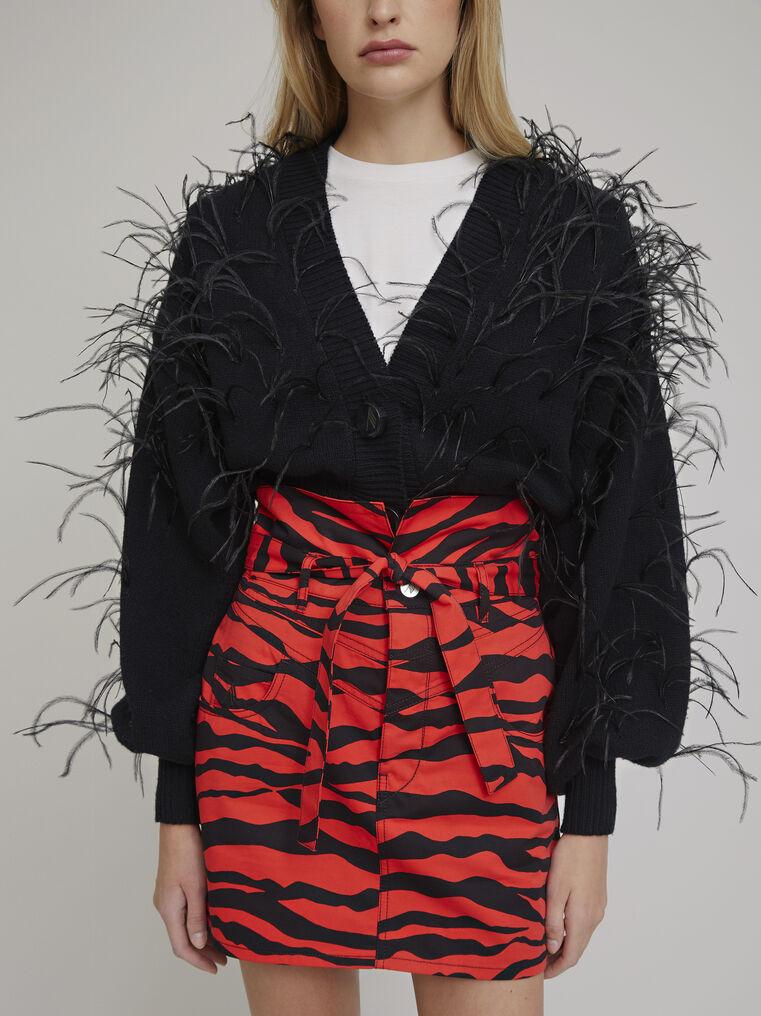 The Attico Black lambswool sweater 2