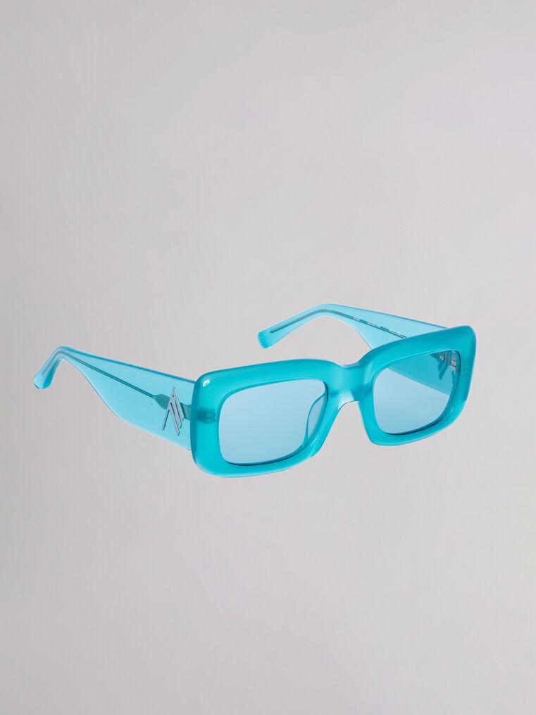 "The Attico ""Marfa"" mint sunglasses 2"