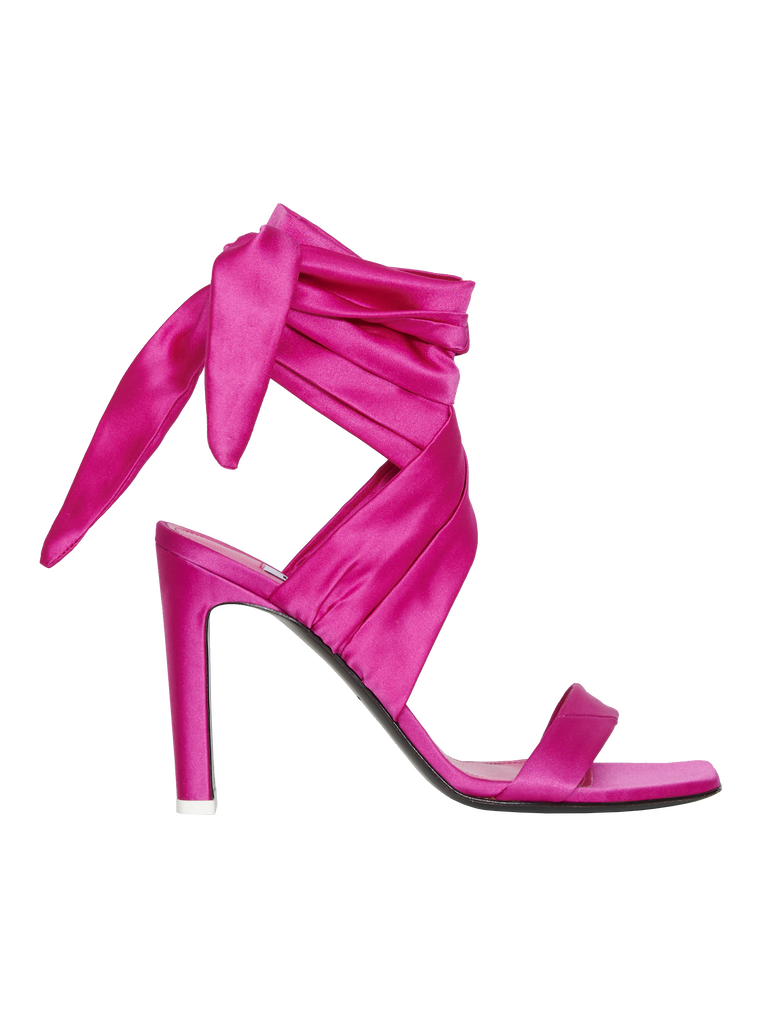 """The Attico """"Paris"""" fuchsia sandals 3"""