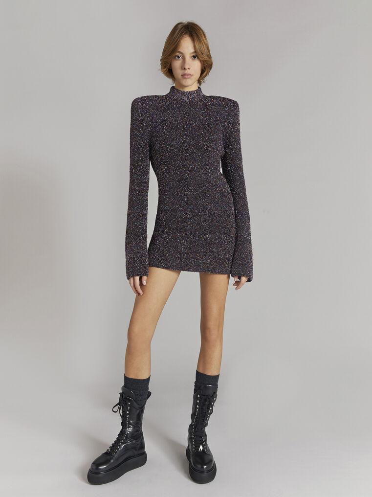 THE ATTICO Multicolour mini dress 1
