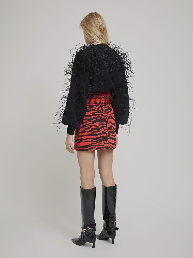 The Attico Black lambswool sweater 3