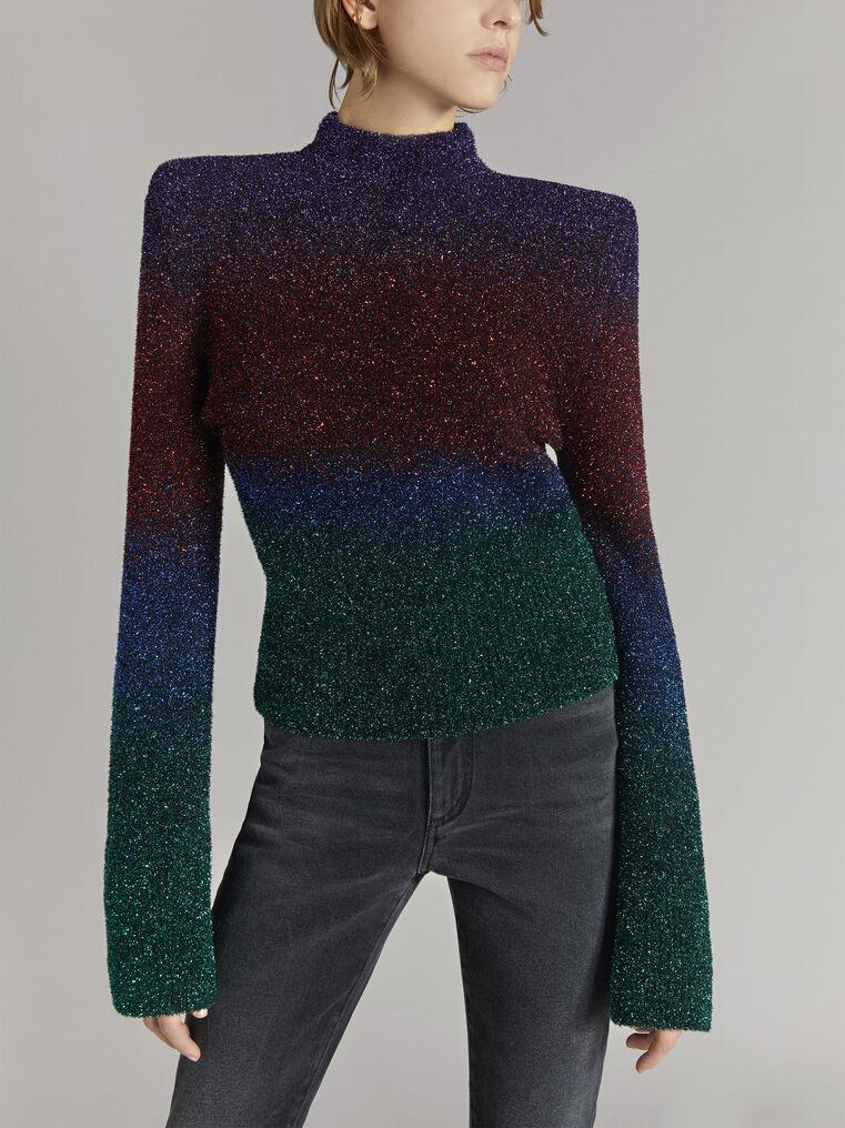 """THE ATTICO """"Kenna"""" multicolour sweater 2"""