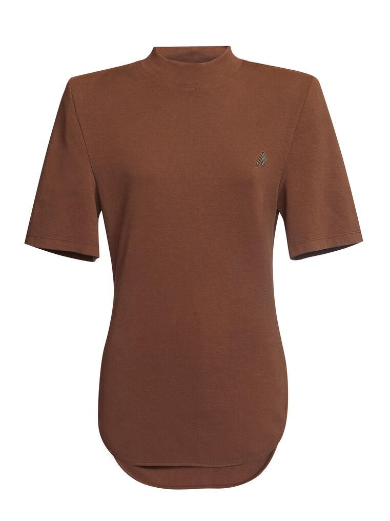 "THE ATTICO ""Tessa"" rum t-shirt 4"