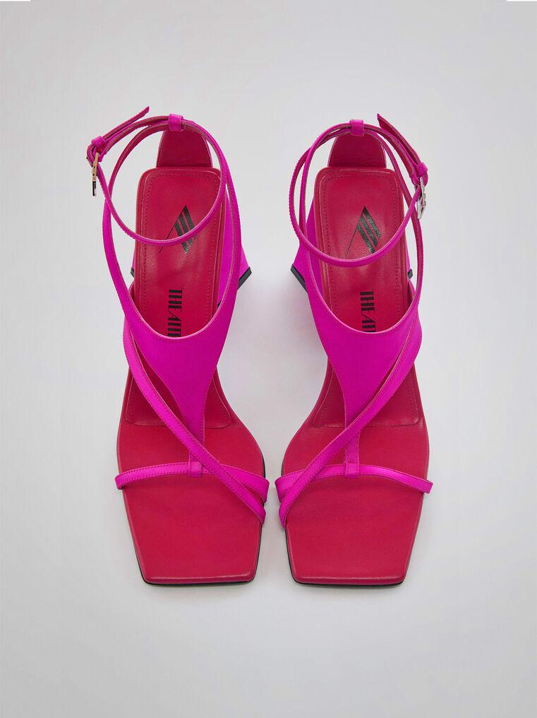 """THE ATTICO """"Atena"""" fuchsia sandal 2"""