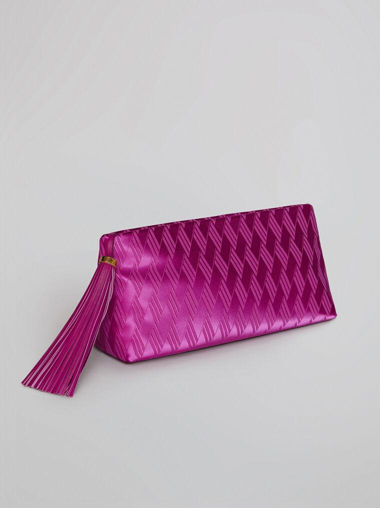 "The Attico ""Wynona"" pink pouch 1"