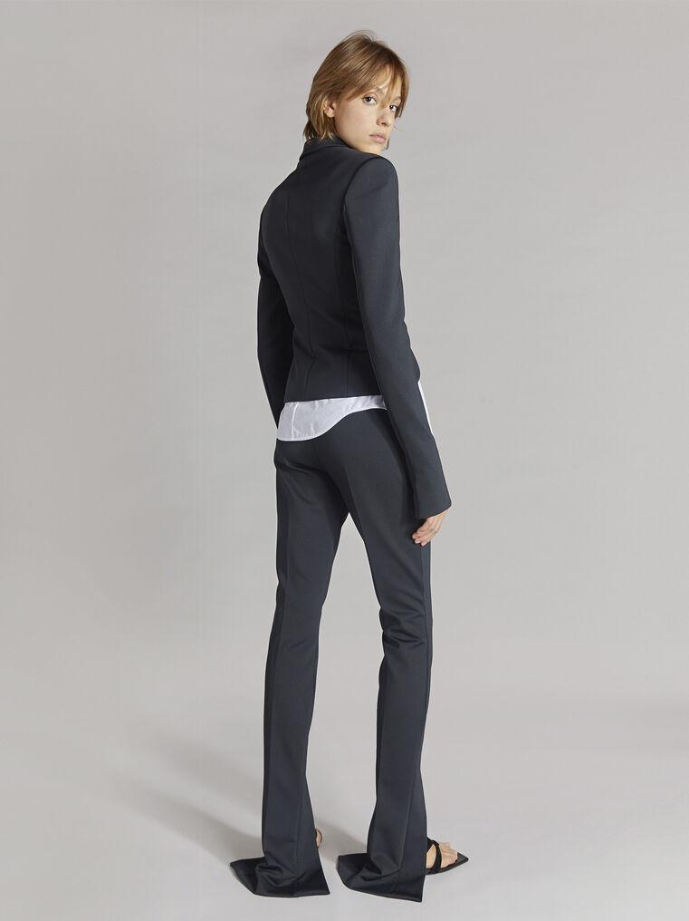 """THE ATTICO """"Freja"""" black skinny pants 3"""