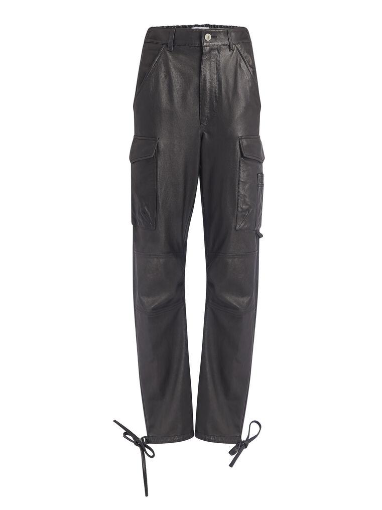 THE ATTICO ''Manson'' black cargo pants 4