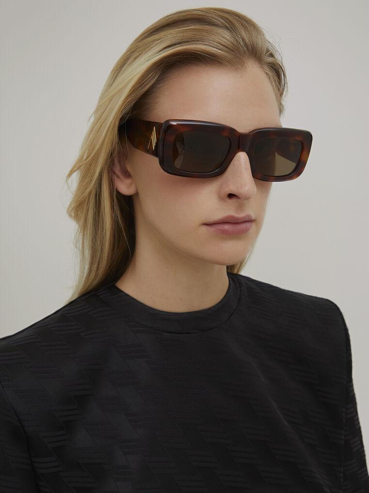 "The Attico ""Marfa"" tortoise effect sunglasses 1"