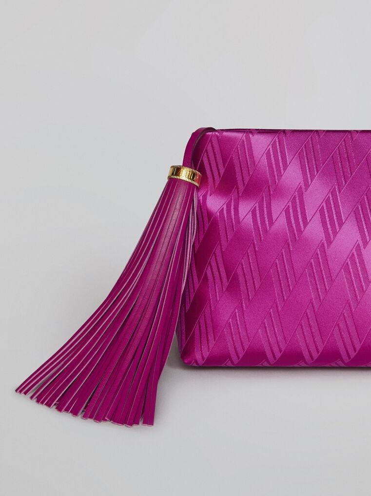 "The Attico ""Wynona"" pink pouch 2"