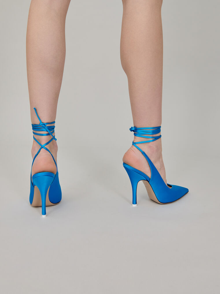 "The Attico ""Venus"" blue slingback 3"