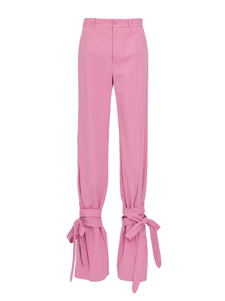 """The Attico """"Donna"""" orchid pink pants 4"""