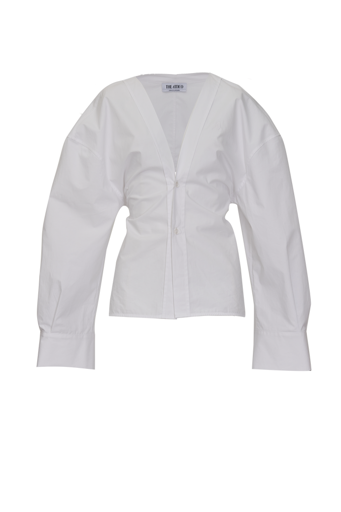 The Attico White shirt 3
