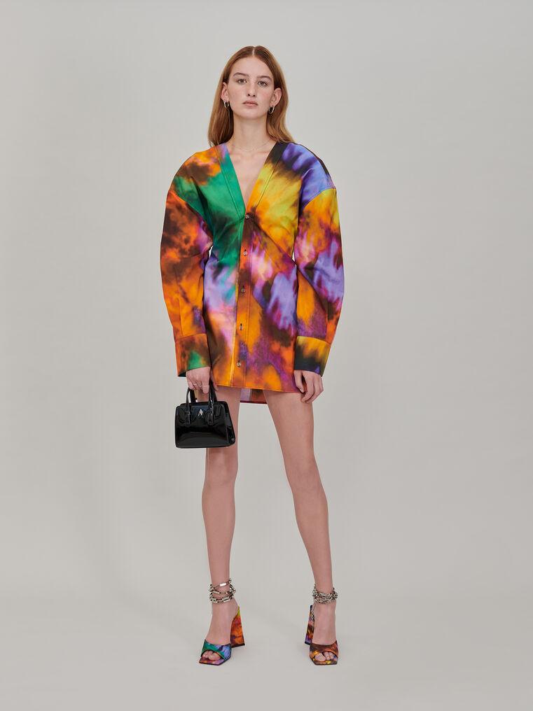 """The Attico """"Lala"""" multicolor chemisier mini dress 1"""