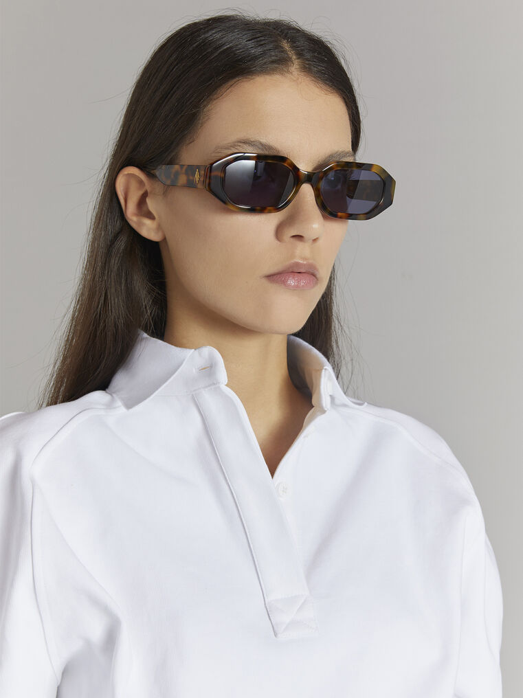 "THE ATTICO ""Irene"" tortoise effect sunglasses 2"