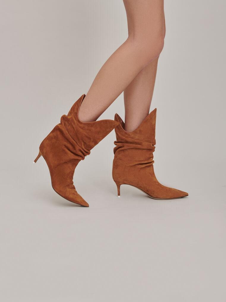 "The Attico ""Tate"" camel boots 1"