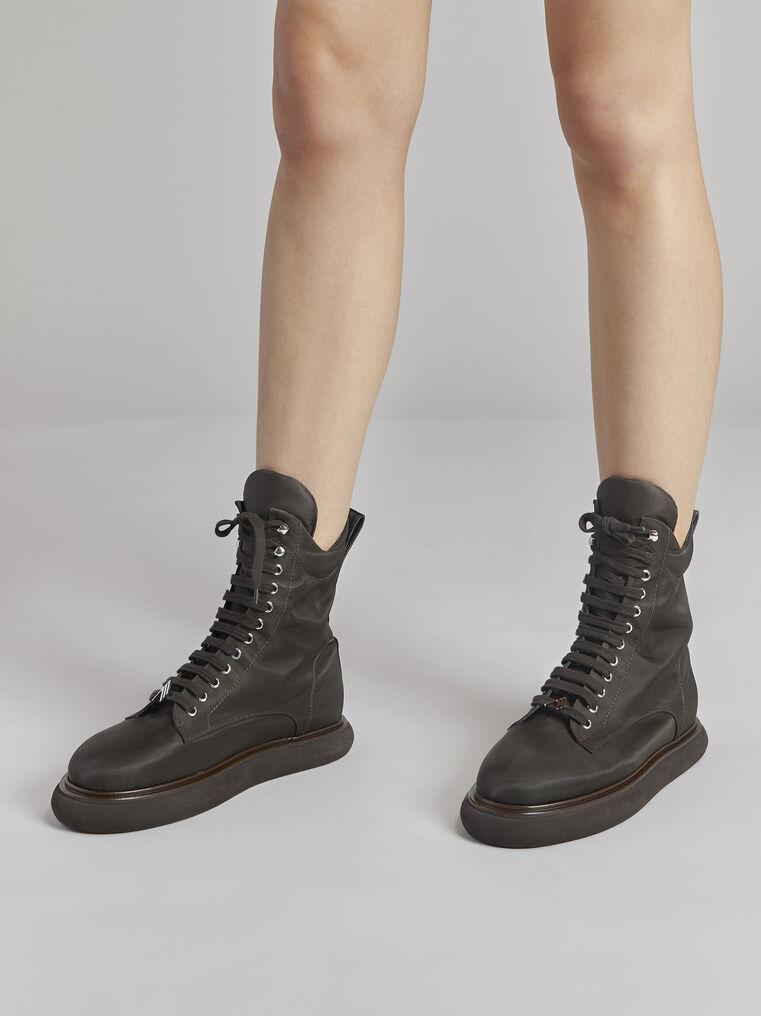 "THE ATTICO ""Selene"" coffee boots 1"