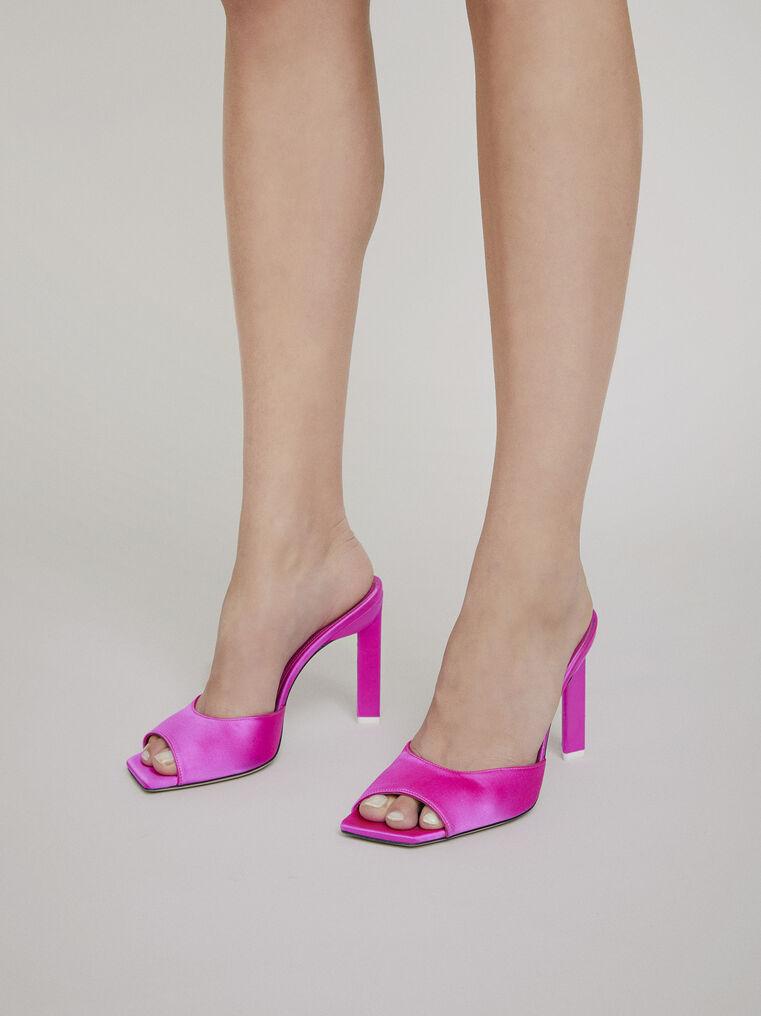 "The Attico ""Kaia"" pink mule 1"