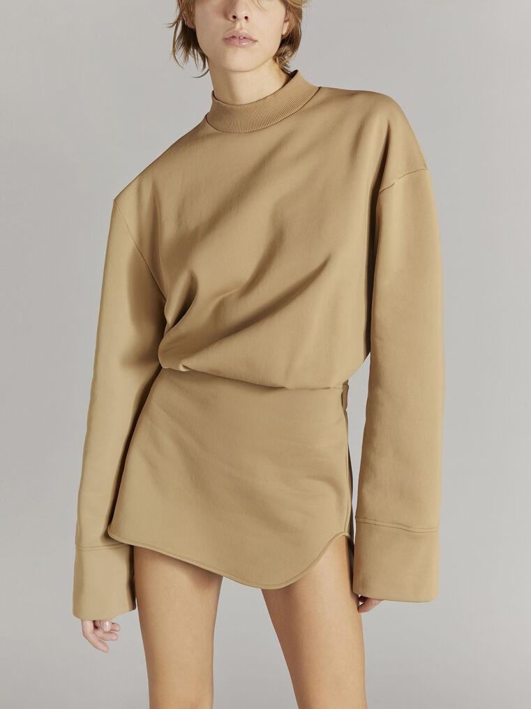 """THE ATTICO """"Palmer"""" camel mini dress 2"""