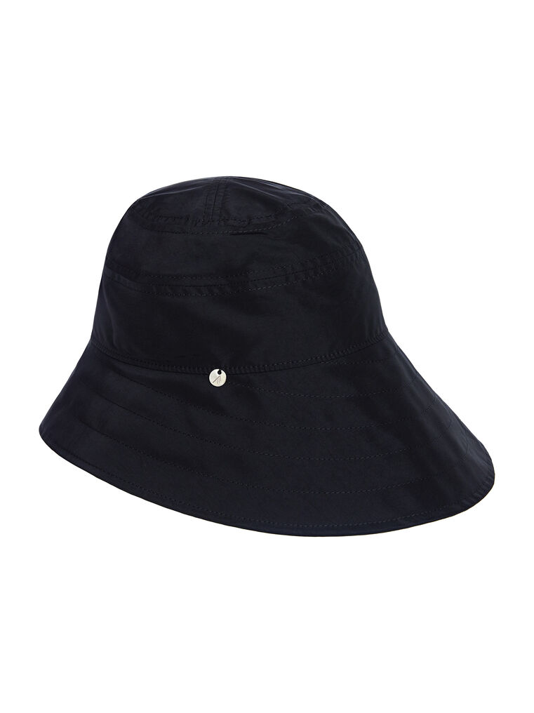 "THE ATTICO ""Dylan"" black bucket hat 3"