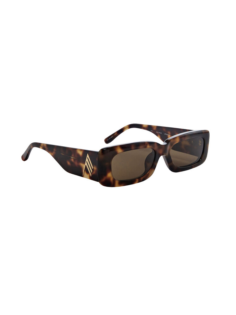 "THE ATTICO ""Mini Marfa"" tortoise effect sunglasses 3"