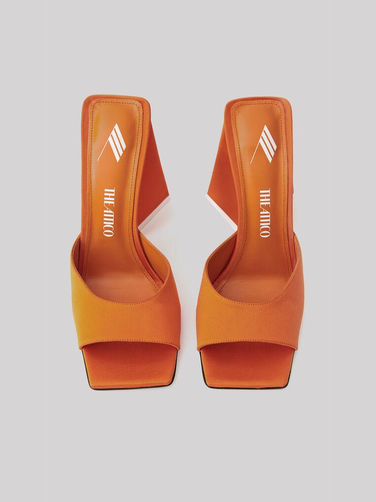 """The Attico """"Devon"""" orange mule 2"""