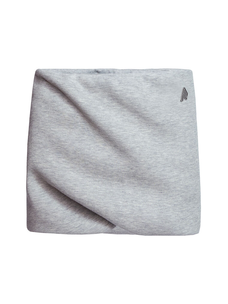 "THE ATTICO ""Ezra"" light grey mini skirt 4"